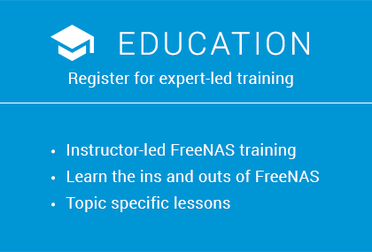 Stand out from the crowd with iX University's FreeNAS & OpenZFS Training