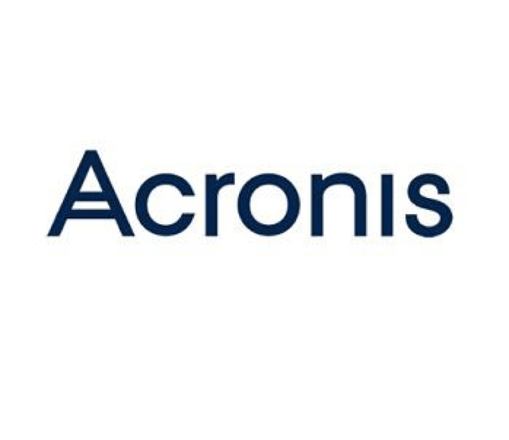 Yes, we work with Acronis!