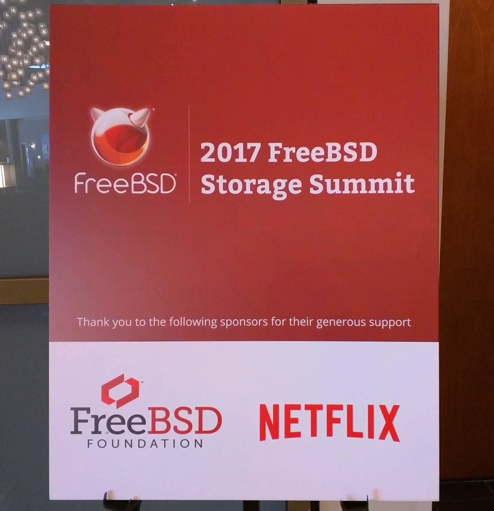 iXsystems attends the Second Annual FreeBSD Storage Summit