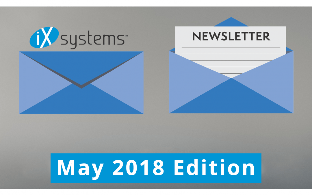 iXsystems Newsletter: May Edition
