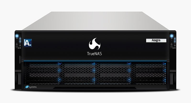 Asigra TrueNAS Backup Appliance Built on iXsystems Open