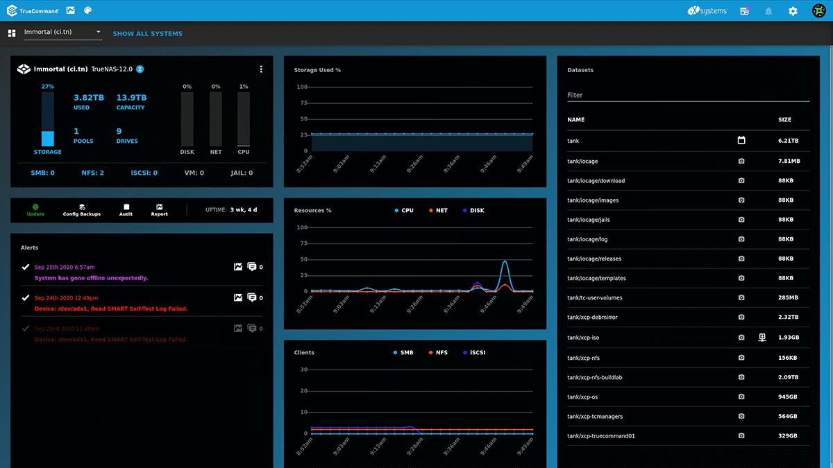 Manage any Remote TrueNAS with TrueCommand Cloud